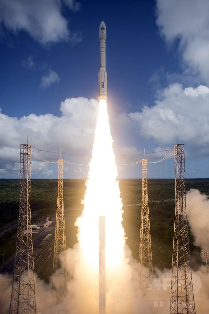 欧州宇宙機関、大気圏再突入実験に成功 往復ミッション実現に前進
