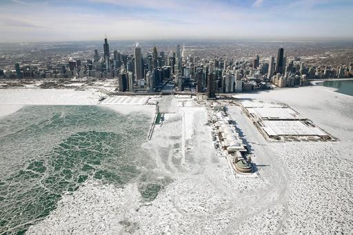 米大寒波で21人死亡 週末は一転、春の陽気に