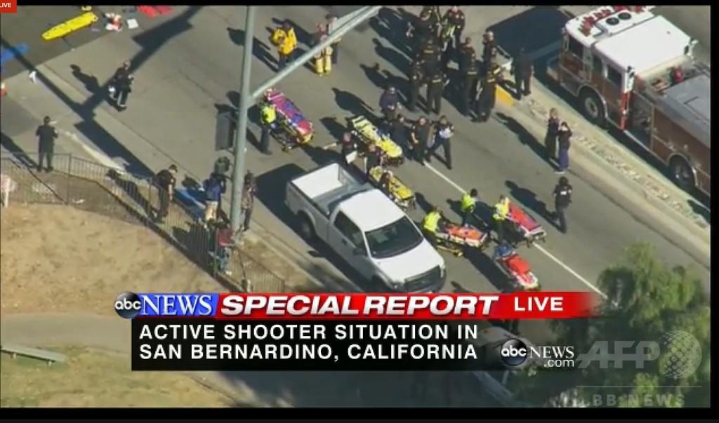 障害者施設で銃乱射、14人死亡 米カリフォルニア州