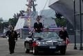 自主建造のミサイル艇と補給艦が就役、台湾