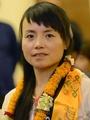 ヘリ利用の中国人女性