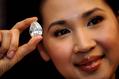 72.22カラットの巨大ダイヤモンド、香港で公開