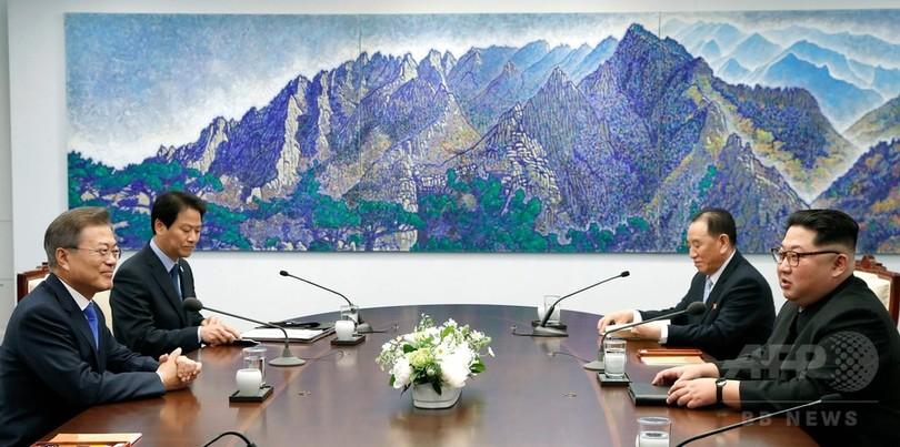 「北朝鮮時間を戻して韓国に合わせる」 南北会談で金正恩氏