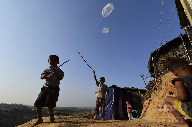 心に傷を負ったロヒンギャの子どもたち、ミャンマー帰還を恐れる
