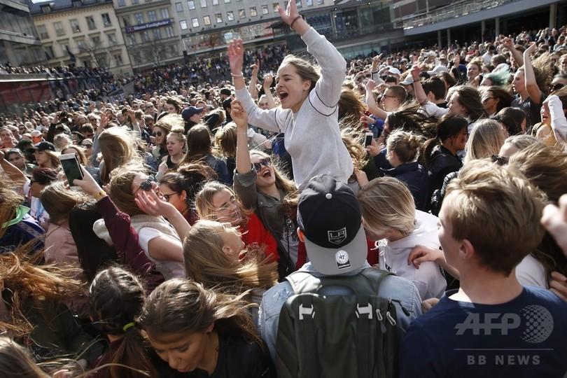 アヴィーチーさん死去、スウェーデン首都の追悼イベントに数千人