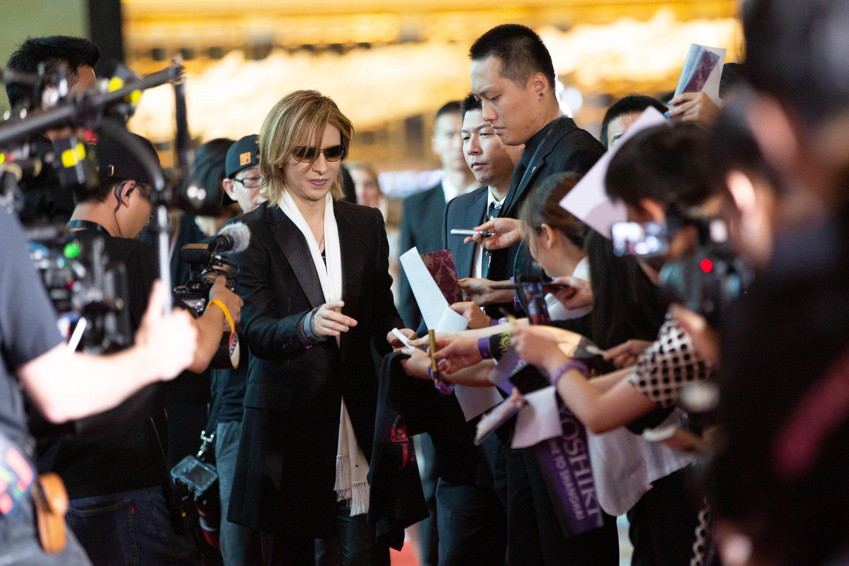 YOSHIKIさん、上海の映画祭にゲスト出演
