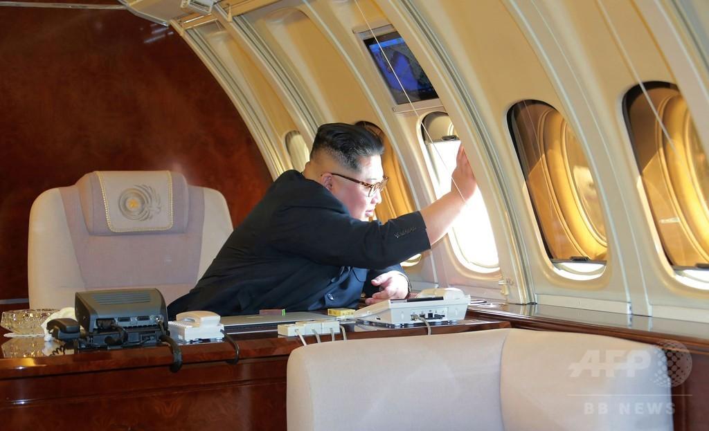 エアフォース・ウン? 訪中で垣間見えた金正恩氏の飛行機