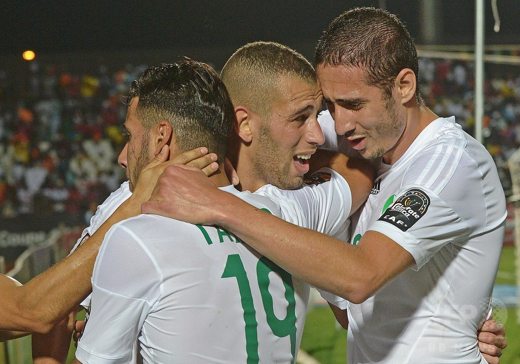 優勝候補アルジェリア、南アフリカに逆転勝利 アフリカネイションズカップ