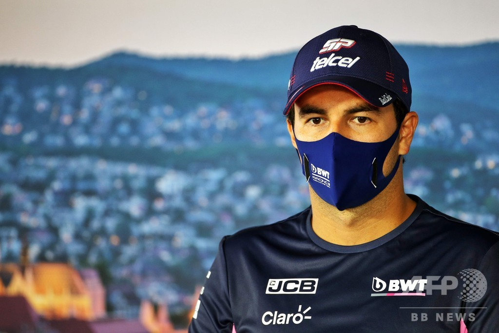ペレスがF1ドライバー初のコロナ陽性、英国GP欠場へ