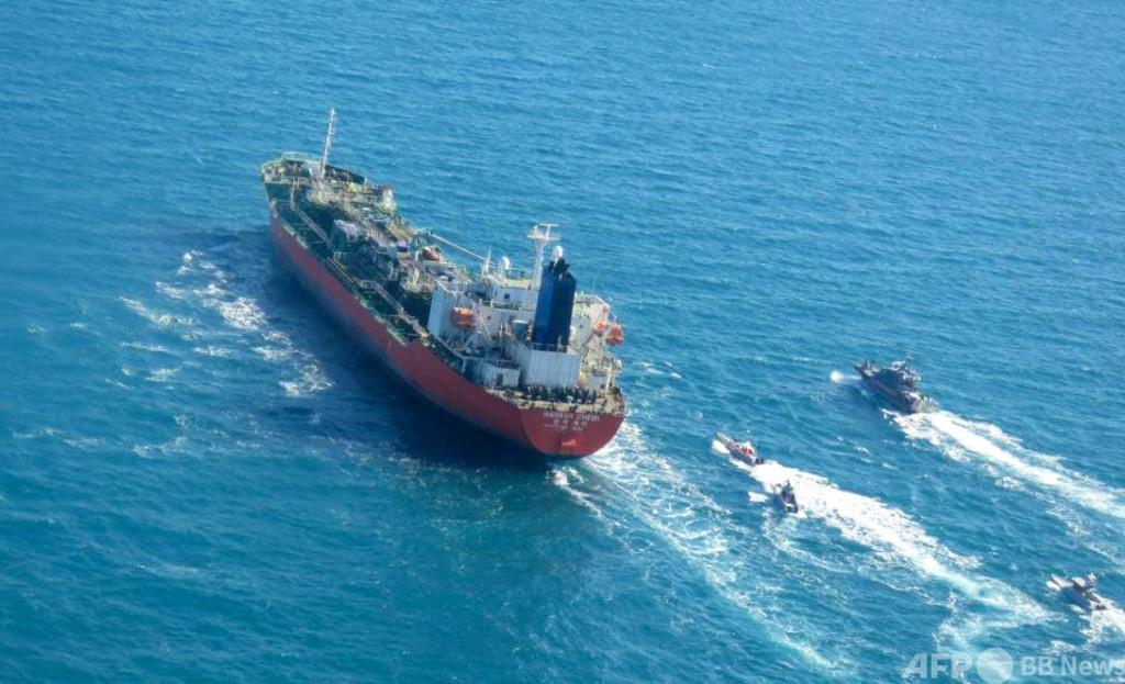イラン、韓国タンカー拿捕の政治問題化をけん制 米仏の介入で