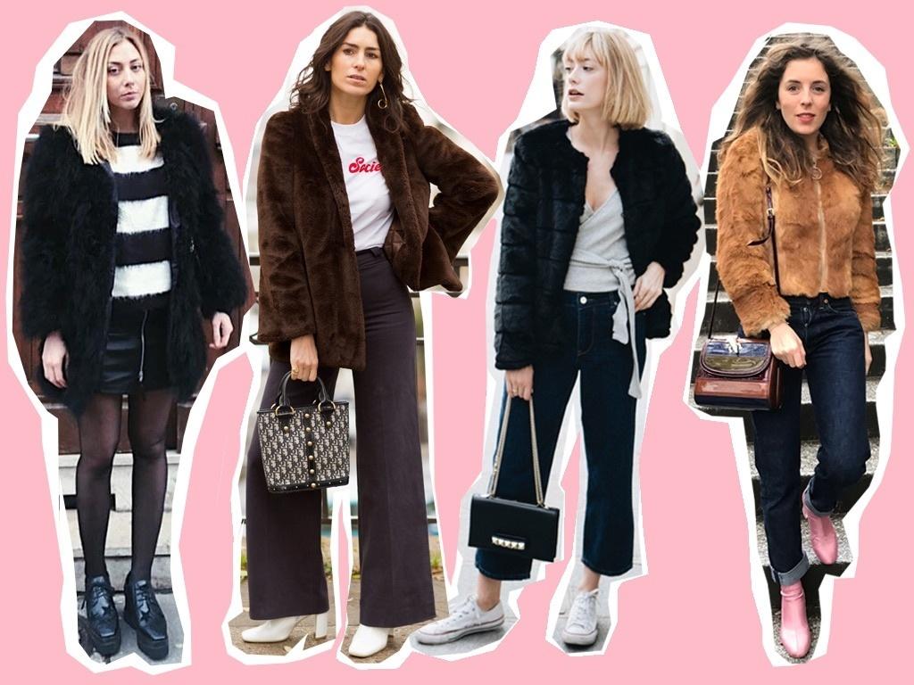 <Snap>パリジェンヌのファーコートスタイル