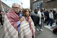 【写真特集】ブリュッセル連続テロ、発生直後の現場