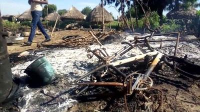 動画:ボコ・ハラムの急襲で村民7人死亡 ナイジェリア