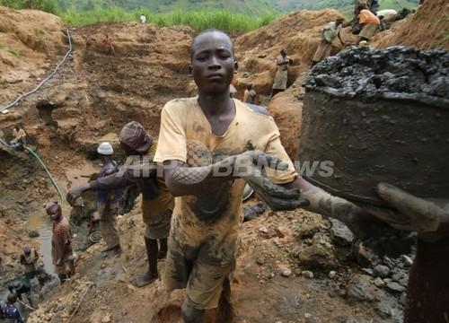 携帯電話用レアメタルがコンゴ武装勢力の資金源に、国際NGO