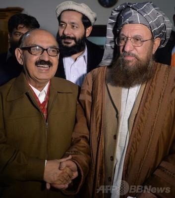 パキスタン政府とタリバン、和平へ向け歴史的会合
