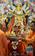 ヒンズー教の女神ドゥルガの祭り、インド