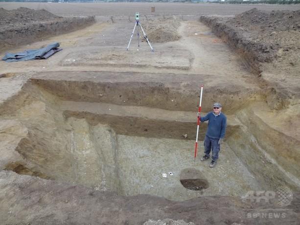 カエサル英侵攻の初の証拠か、英大学チームが発見