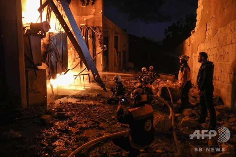 シリア・イドリブ県、ロシアが停戦合意後初の空爆 13人死亡