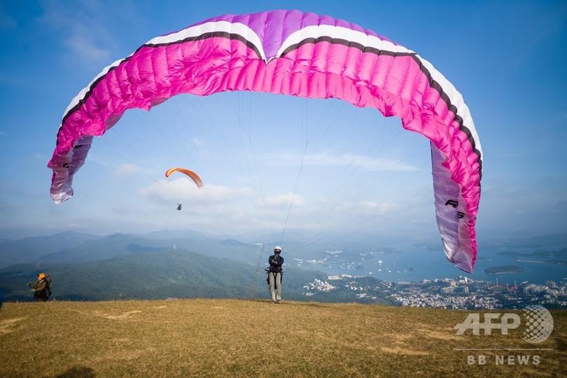 【今日の1枚】香港の空は広い?