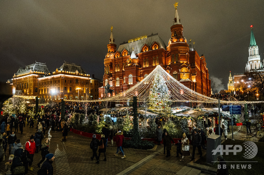 133年ぶり暖冬、雪の降らないモスクワ ネットに「雪売ります」の広告も