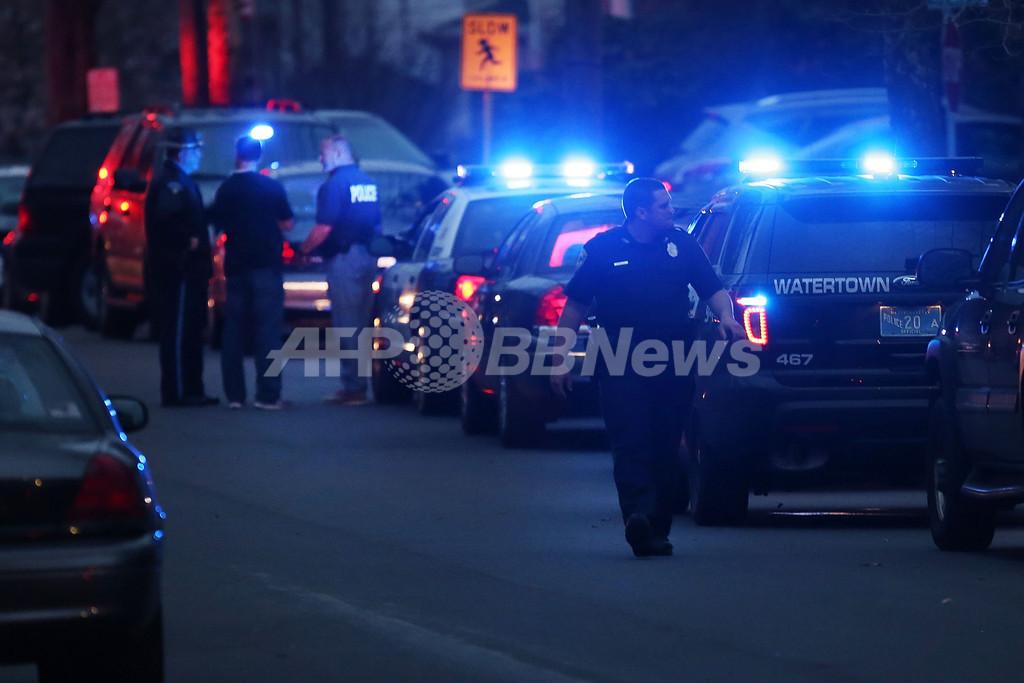 ボストン爆発の容疑者を包囲か、米メディア報道