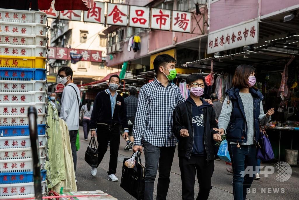 品不足のマスク、自ら作り始めた香港市民 機械輸入し製造ライン造った人も