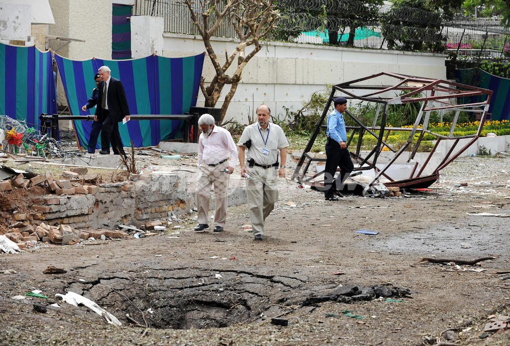 パキスタンのデンマーク大使館自爆攻撃、アルカイダが犯行声明
