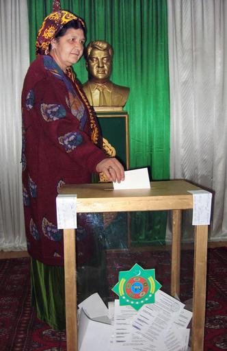 大統領選挙の投票が行われる - トルクメニスタン