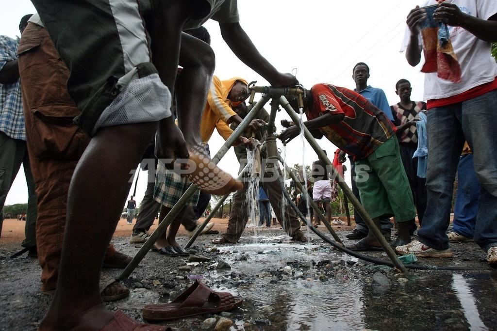 ジンバブエでコレラに続き炭疽病まん延の危険性、英援助団体