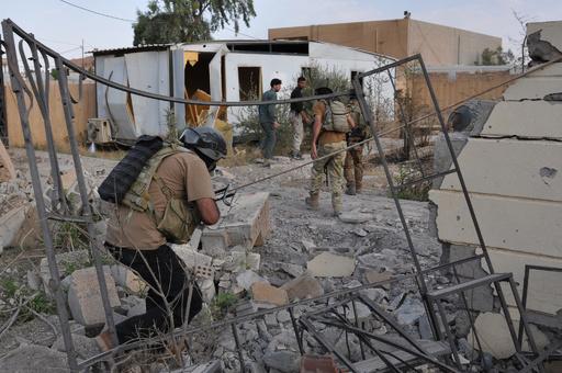 イラクの国内避難民、戦闘激化で48万人近くに UNHCR