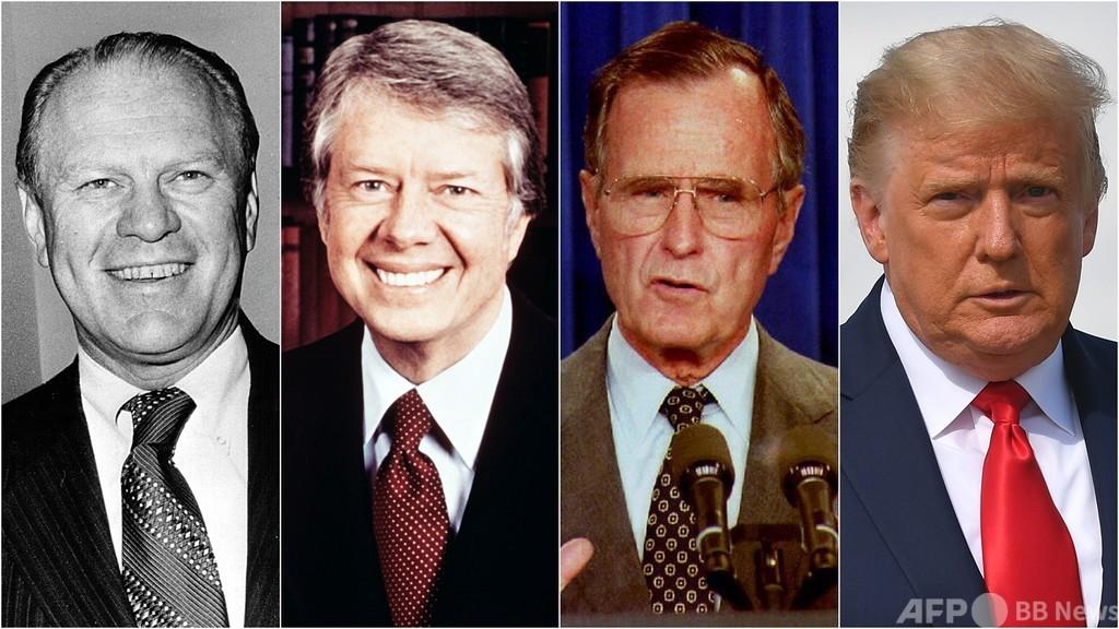 トランプ氏の再選ならず、過去の米大統領選の現職敗北は戦後3人のみ