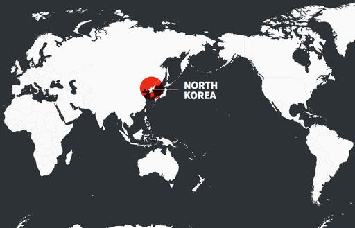 【動く図解】北朝鮮の弾道ミサイルの推定射程