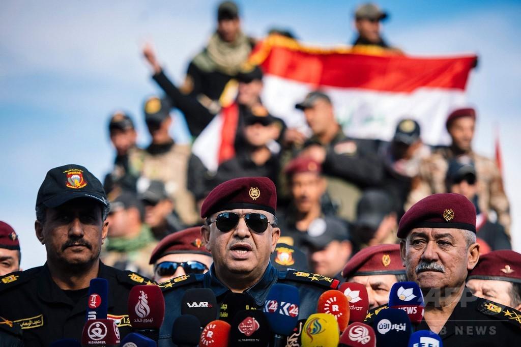 IS、1年で支配地域4分の1失う 過去最大 イラク軍はモスル東部を解放