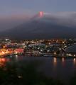 フィリピン・マヨン山、火山活動活発化で周辺住民に避難命令