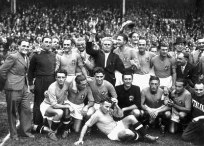 イタリアが大会連覇―1938年W杯フランス大会
