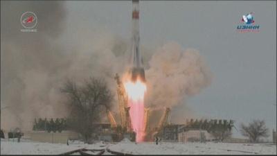 動画:ロシア、無人「プログレス補給船」打ち上げに成功 予定の2日後