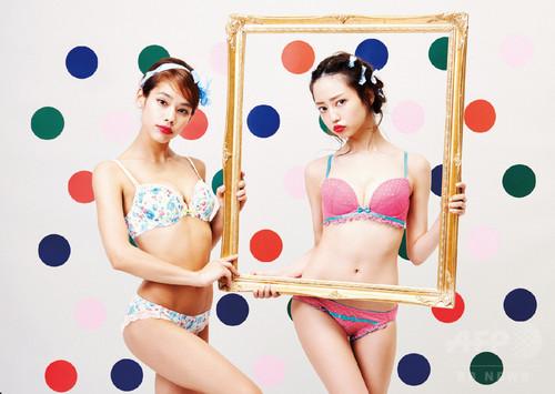中村里砂が下着モデルに、「YUMMY MART」新作コレクションビジュアル公開