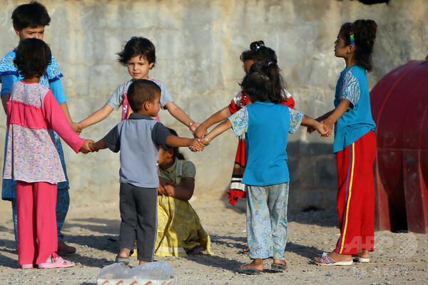 イラクの子どもたち、多数が武装勢力の支配下に 国連が警鐘