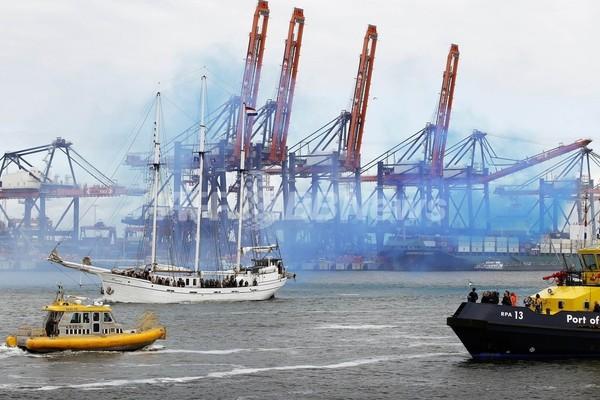 欧州最大のロッテルダム港、大規模拡張を公開 総工費約4000億円