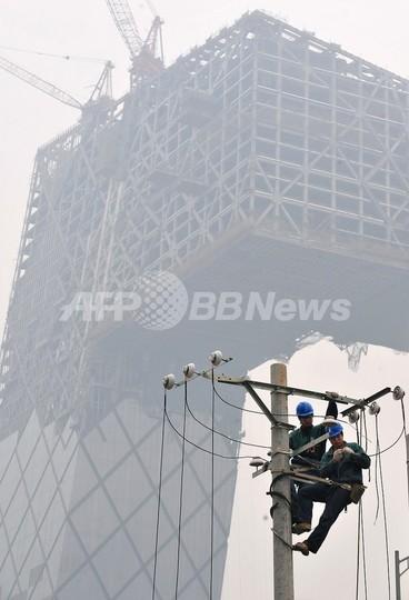 北京市、2か月間の工場操業・土木工事停止へ 五輪大気汚染対策