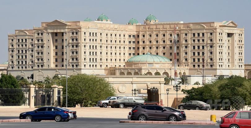 サウジ高級ホテル、身柄拘束された王子らの「留置場」に