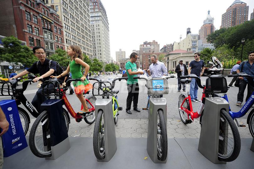 ニューヨークでもレンタサイクル、2012年夏から