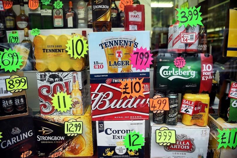安過ぎる酒禁止! スコットランド、最低価格制を導入