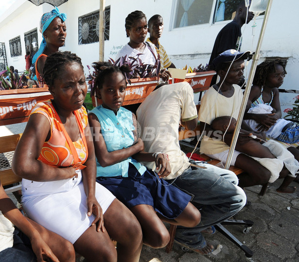コレラ「感染の勢い衰えつつある」、ハイチ保健当局 死者は253人に