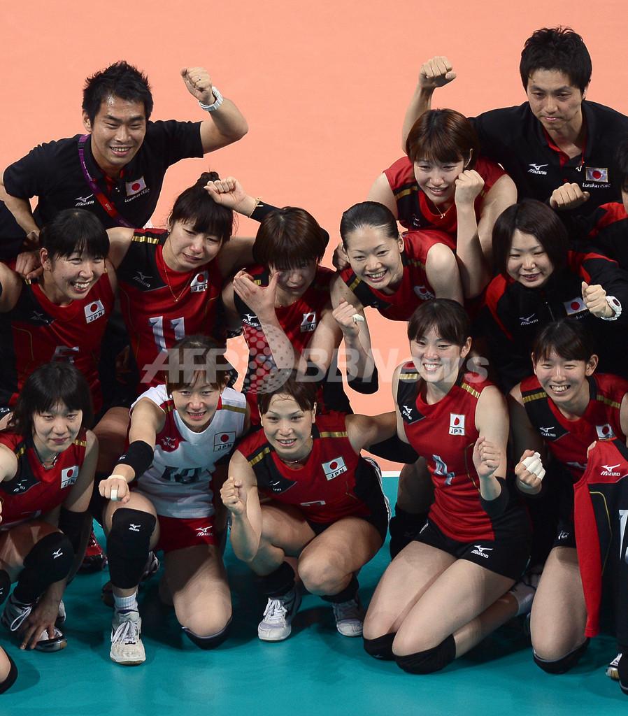 女子バレー日本、韓国を下して銅メダル獲得