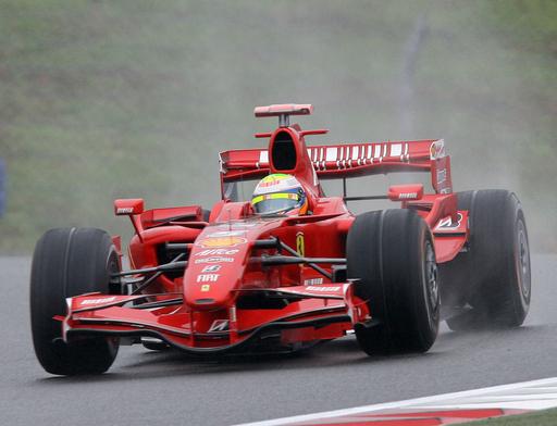 マッサ 日本GP・予選で4番グリッド獲得