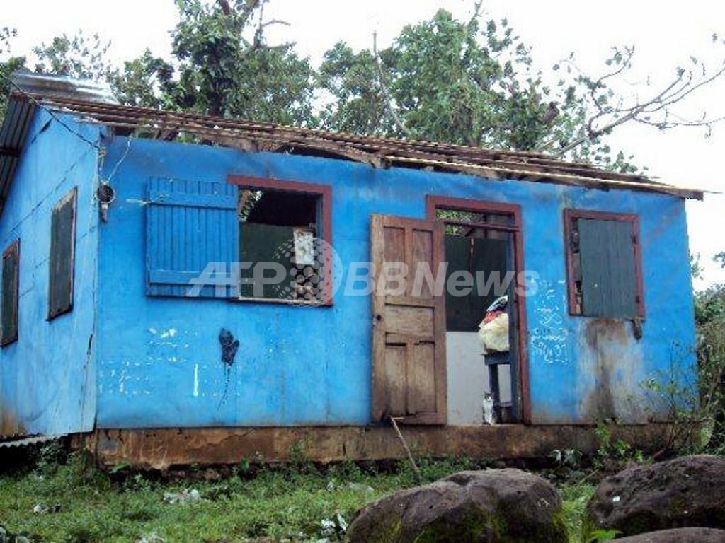 熱帯低気圧による風雨で4万人に影響、ニカラグア