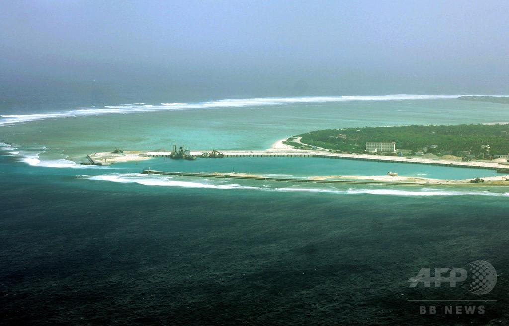 米国務長官、中国の南シナ海「軍事拠点化」を批判