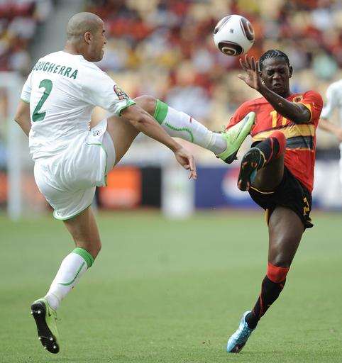 アンゴラとアルジェリアが8強入り、アフリカ・ネイションズカップ