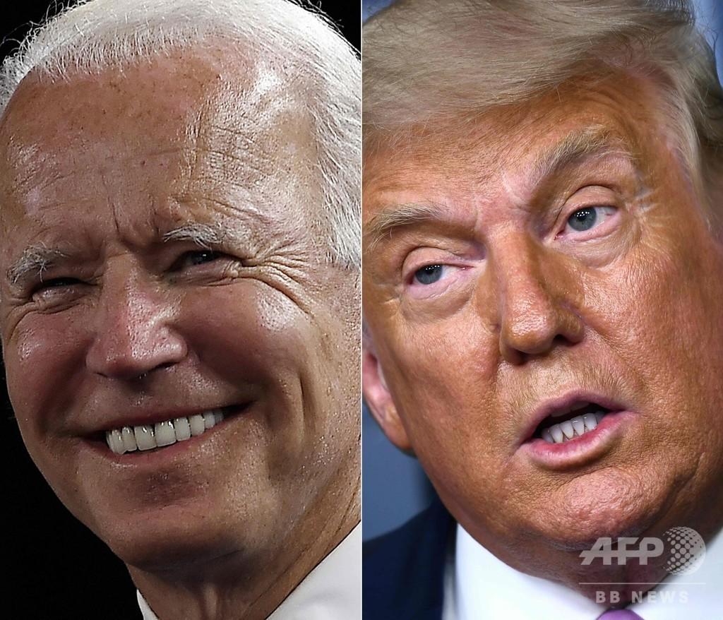 米大統領選第2回討論会、リモート形式に トランプ氏は出席拒否
